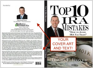 New Book - David F Royer - Top 10 IRA Mistakes and How To Avoid IRS Tax Traps